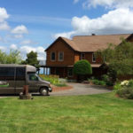 Infinity Limo Tours at the Rex Hill Vineyard tasting room