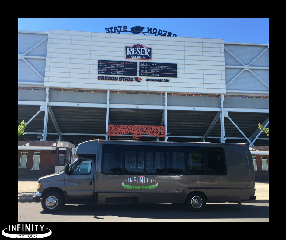 Limousine Service to Reser Stadium Sporting Events