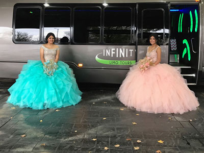 Prom party bus service in Salem, Oregon