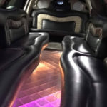 Cadillac Escalade Stretch Limo Interior in Salem Oregon